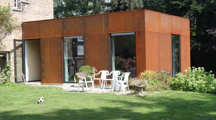 Maatwerk metaalconstructies dm construct diksmuide nieuwpoort - Stenen huis uitbreiding ...